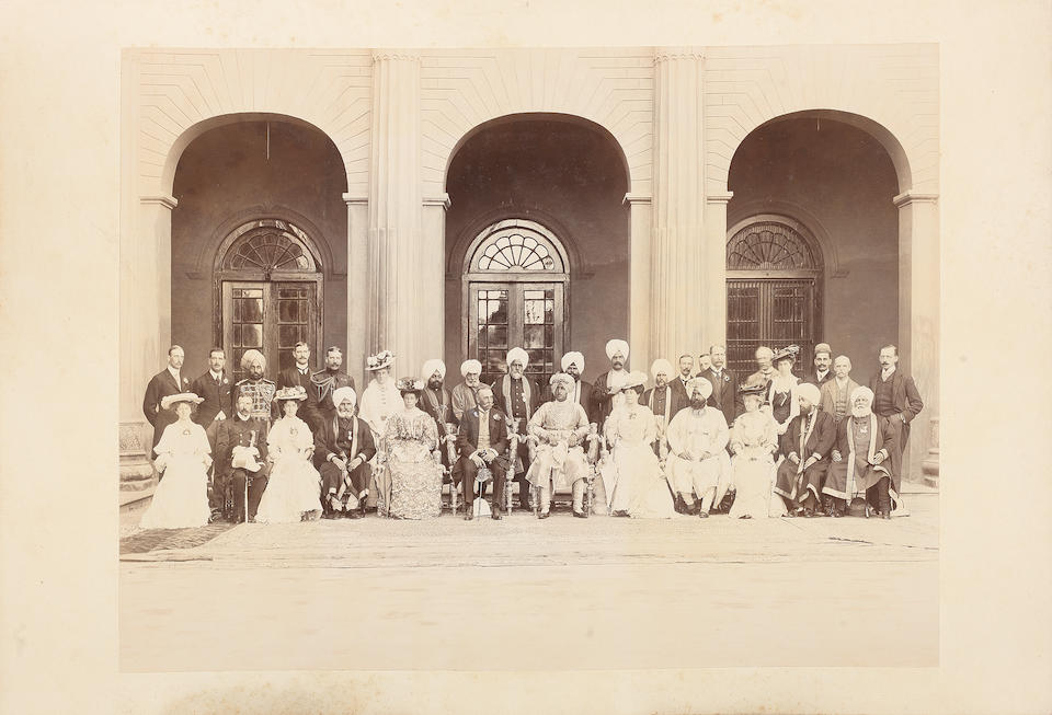 An album of photographs relating to the State of Patiala, as well as the visit of the Prince of Wales to Lahore in 1905, and other north Indian subjects Patiala and elsewhere, 1905