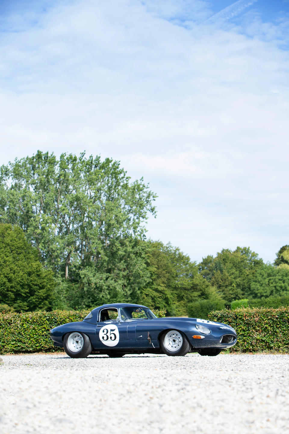 1961 Jaguar E-Type Semi-Lightweight Competition Roadster with Hardtop  Chassis no. 850007