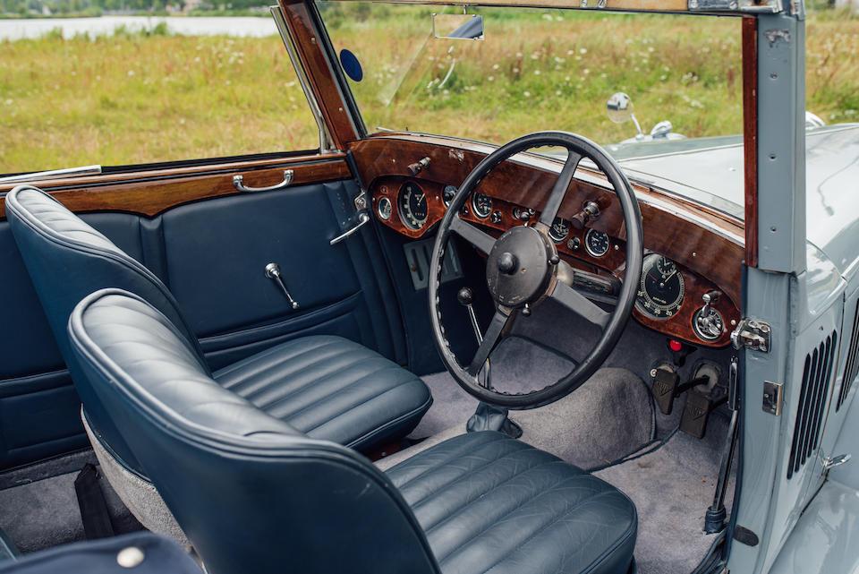 1937 Alvis 4.3-Litre Short Chassis Drophead Coupé  Chassis no. 13182