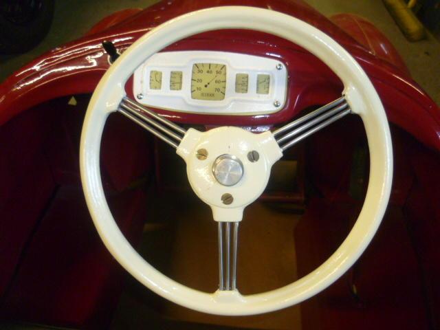 An Austin J40 pedal car, early 1960s,
