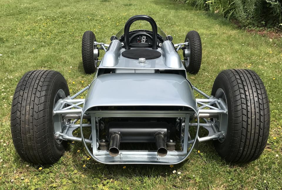 A petrol driven Porsche 804 child's car,