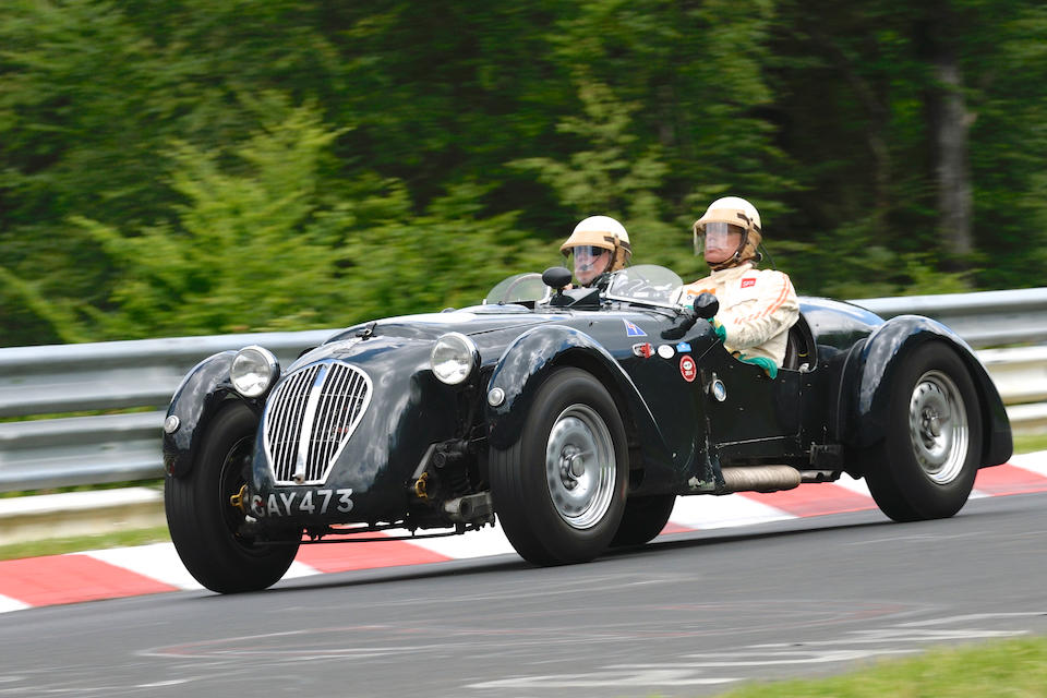 1950 Healey Silverstone Jaguar Competition  Roadster  Chassis no. D48