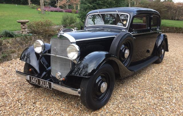 1935 Mercedes-Benz 200 Saloon  Chassis no. 208138-124350