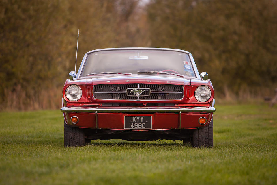 1965 Ford Mustang Convertible  Chassis no. 5F08C291145