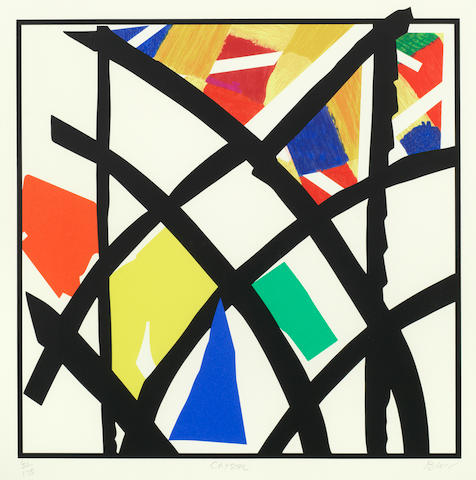 Sandra Blow R.A. (British, 1925-2006) Crystal Glazing Screenprint in colours, 2003, on wove, signed, titled and numbered 41/175 in pencil, printed by Coriander Studios, London, published by CCA, Tilford, with full margins, 445 x 440mm (17 1/2 x 17 3/8in)(I)
