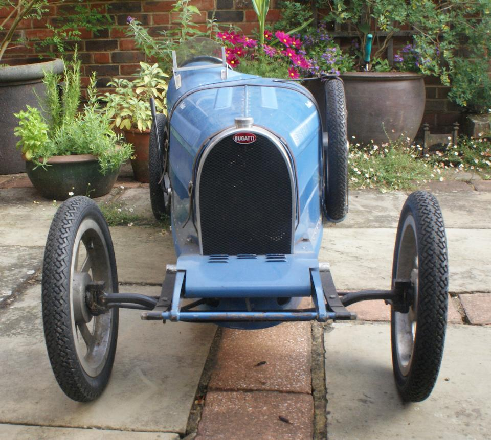 A 'Bugatti' powered child's car by Tula Engineering, chassis number 7 built 1976,