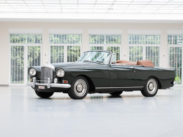 1 of a mere 26 left hand-drive examples produced,1962 Bentley S3 Continental Drophead Coupé 'Chinese Eyes'  Chassis no. BC.8.LXA Engine no. 4.ABC