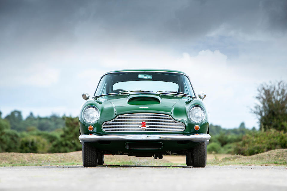 The ex-Donald Campbell, CBE; Works Demonstrator,1961 Aston Martin DB4GT Sports Saloon  Chassis no. DB4GT/0161/R