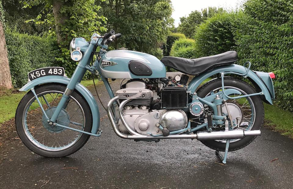 1953 Ariel 998cc Square Four Mark II Frame no. ES704 Engine no. XJ554