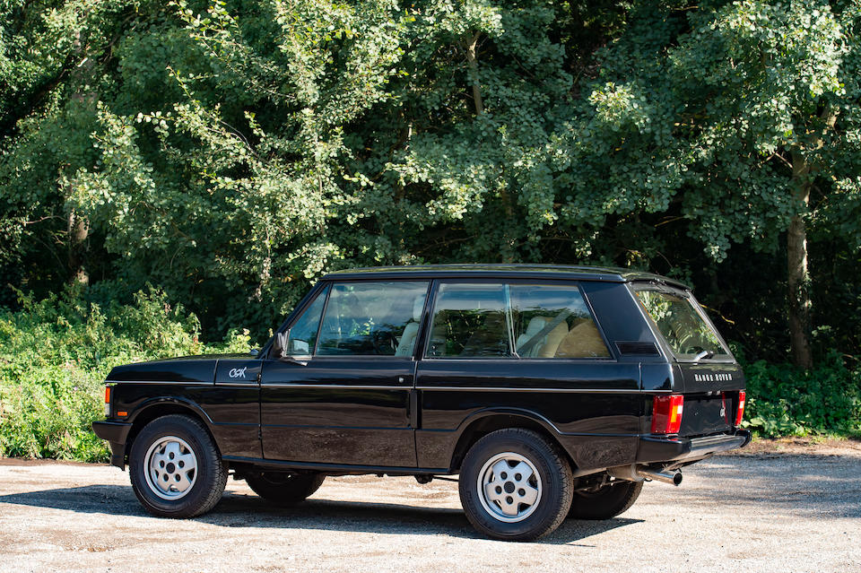 One of 200 made,1995 Range Rover CSK 3.9-Litre 4x4 Estate  Chassis no. 3GA464285