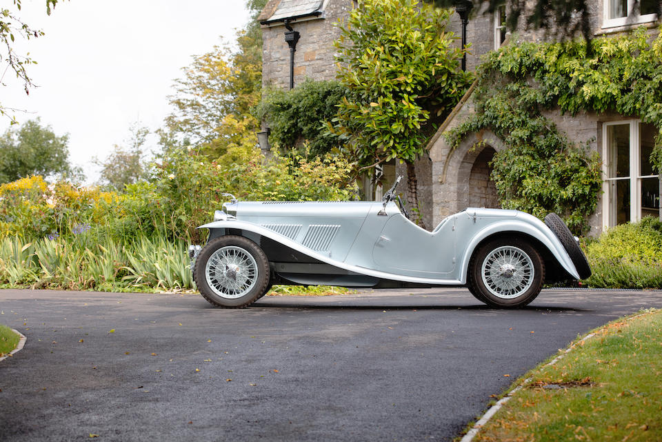 1938 AC 16/80hp Competition Sports  Chassis no. L635