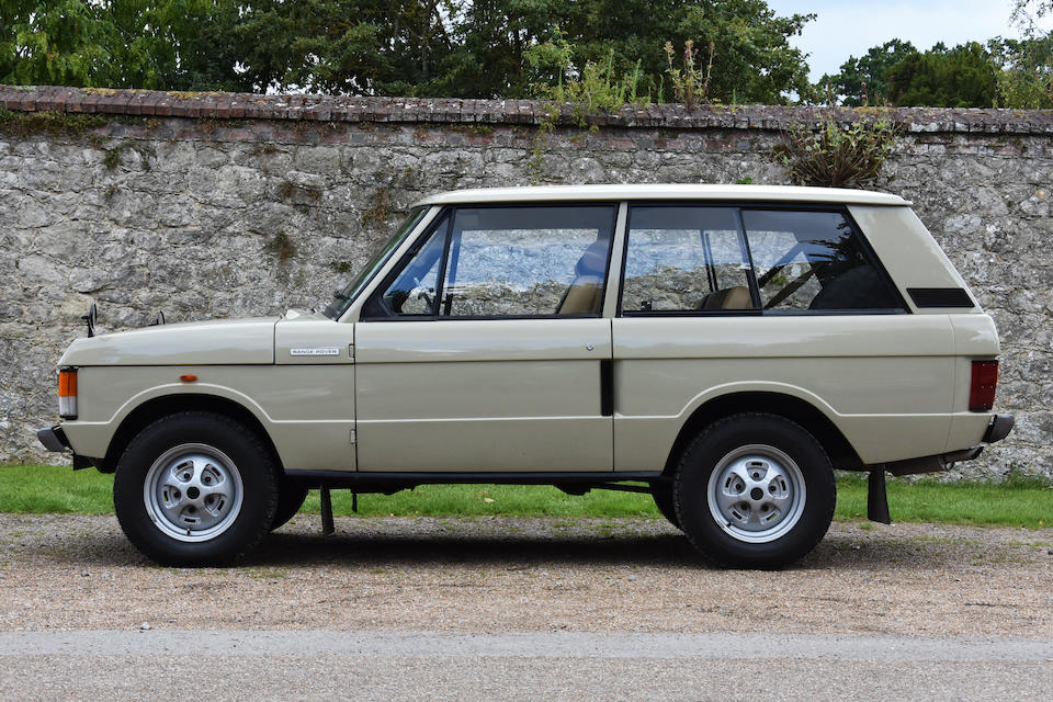 1972 Range Rover 4x4 Estate  Chassis no. 35503632A