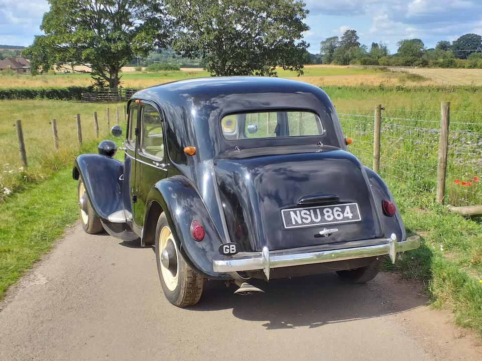 1989 Citroen Traction Avant  Chassis no. 673448