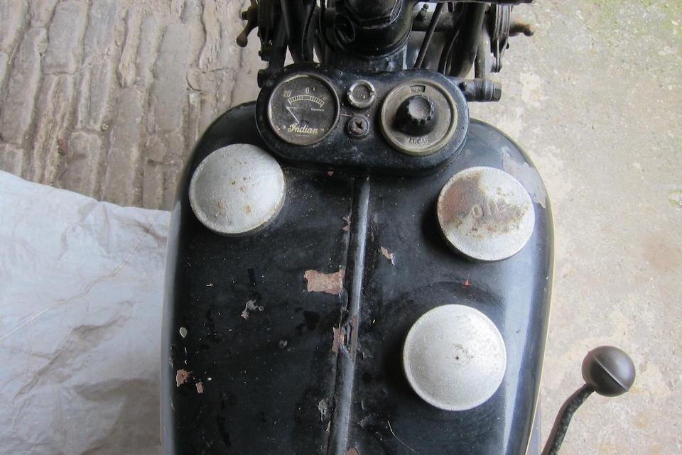 c.1944 Indian 500cc Model 741 Frame no. 7412695 Engine no. GDA26958