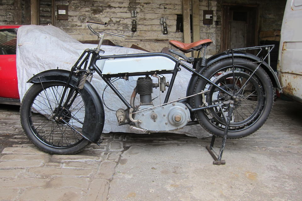 c.1923 Triumph 550cc SD Frame no. 335960 Engine no. 95584 YRI