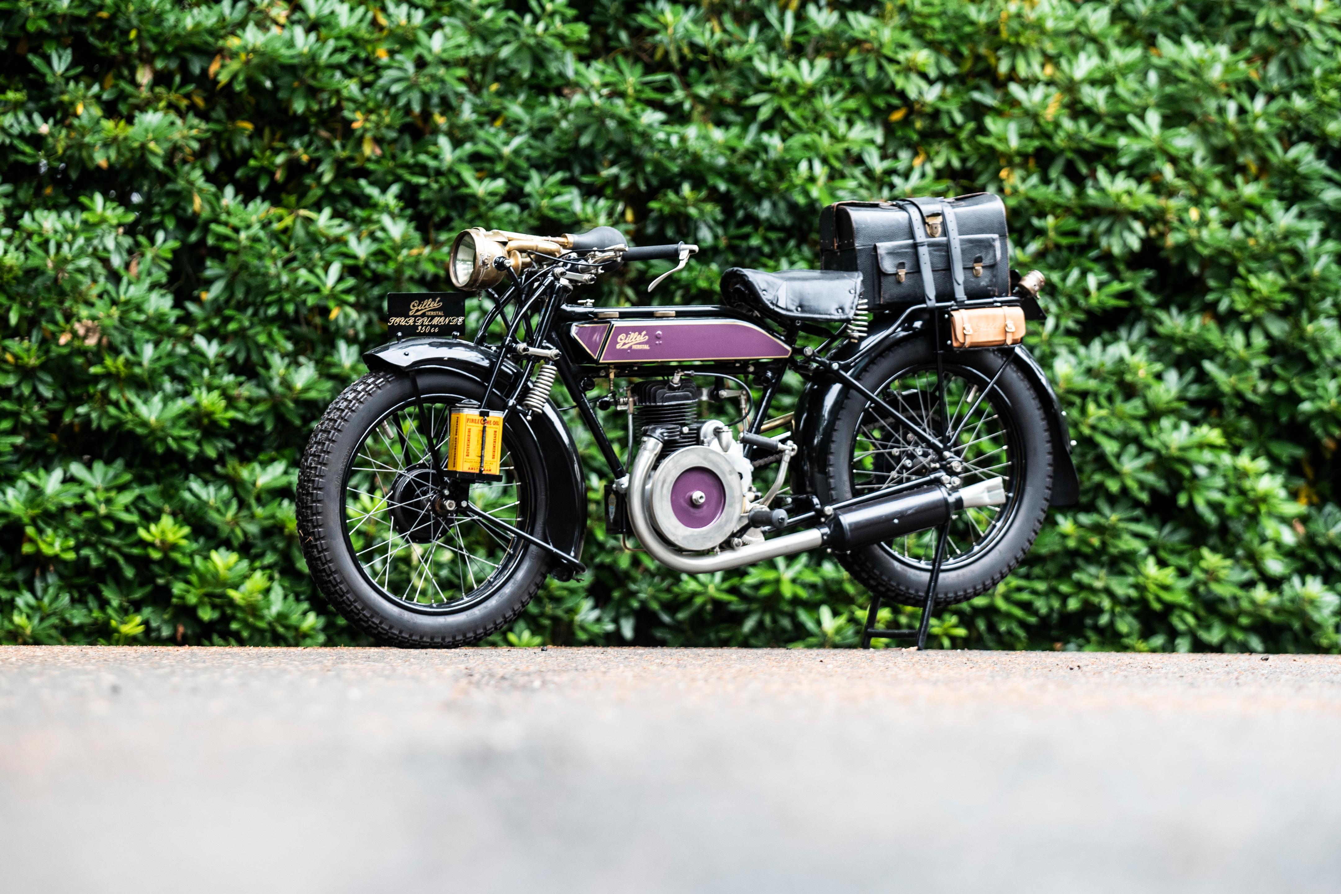 1927 Gillet-Herstal 346cc Tour du Monde