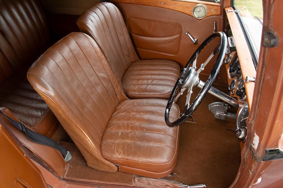 Property of a deceased's estate,1934 Lagonda Rapier Coupé  Chassis no. D10634