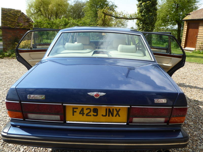 1989 Bentley Turbo R Saloon  Chassis no. SCBZRO4AKCH26592