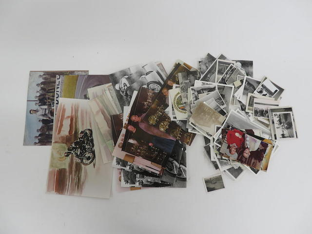 Approximately 108 loose photographs of Stanley Woods throughout the years