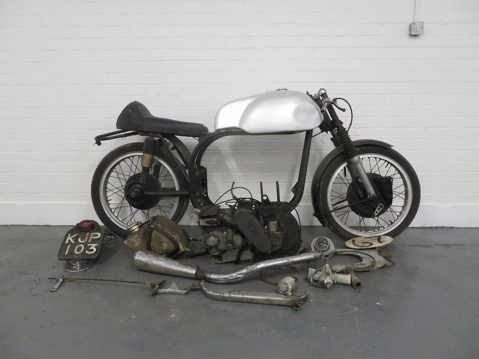 1953 Norton 348cc Manx Model 40M Project Frame no. H10M2 50695 Engine no. H10M2 50695