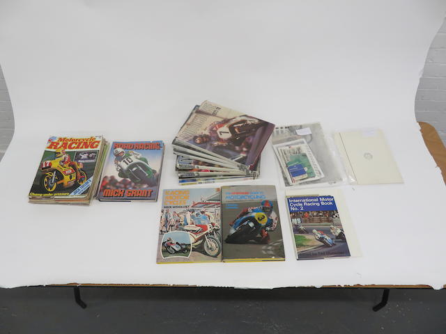 Eight Motocourse annuals for 1977 – 1984 (inclusive) and 1987-'88  ((Qty))