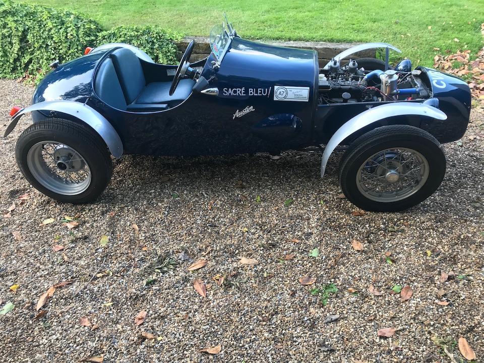 1936 Austin Seven Formula 750 Racing Car 'Sacre Bleu'  Chassis no. 253784