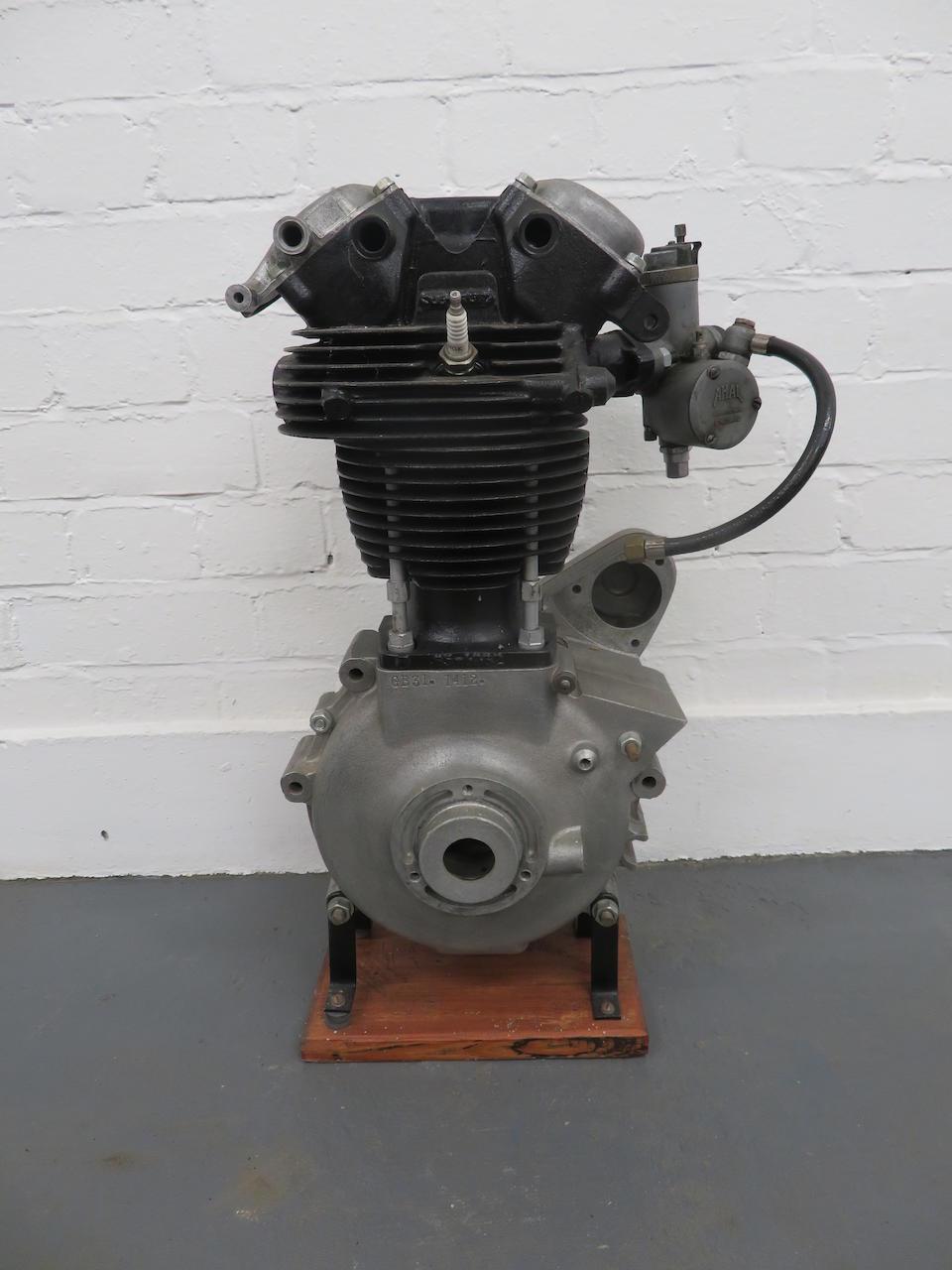 A BSA B31 Display engine