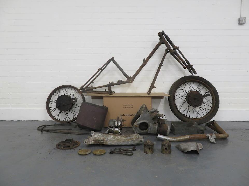 A c.1928 Scott 498cc Three-Speed Super Squirrel Project  ((Qty))