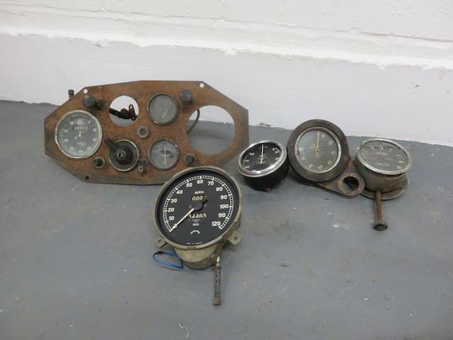 Two Smiths chronometric tachometers