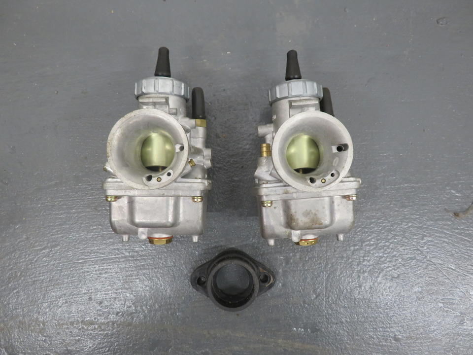 A pair of Mikuni carburettors   ((2))