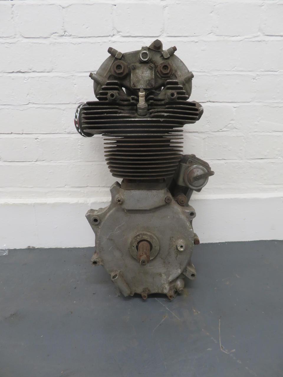 A Velocette KSS engine