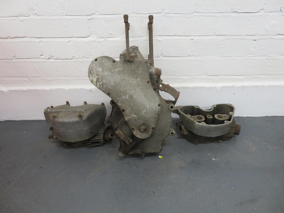 An incomplete Velocette MAC engine