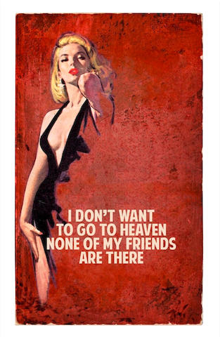 The Connor Brothers (British) I Don't Want To Go To Heaven  Giclée print in colours with screenprint varnish, 2017, on wove, signed, dated and inscribed 'AP 16/20' in pencil, one of 20 artist's proof aside from the numbered edition of 150, with full margins, 1660 x 1060mm (65 3/8 x 41 3/4in)(SH)(unframed)