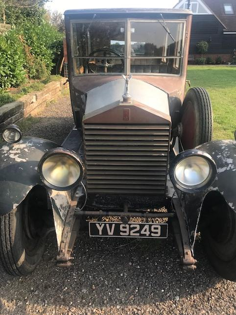 1928 Rolls-Royce 20hp Limousine  Chassis no. GWL22