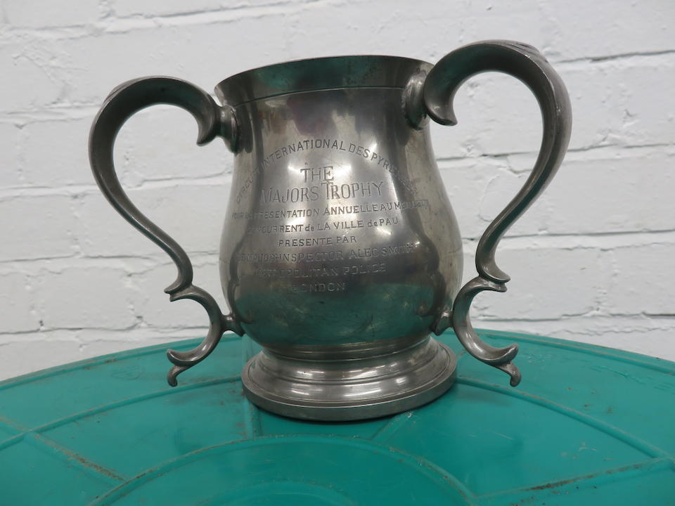A believed Pewter trophy