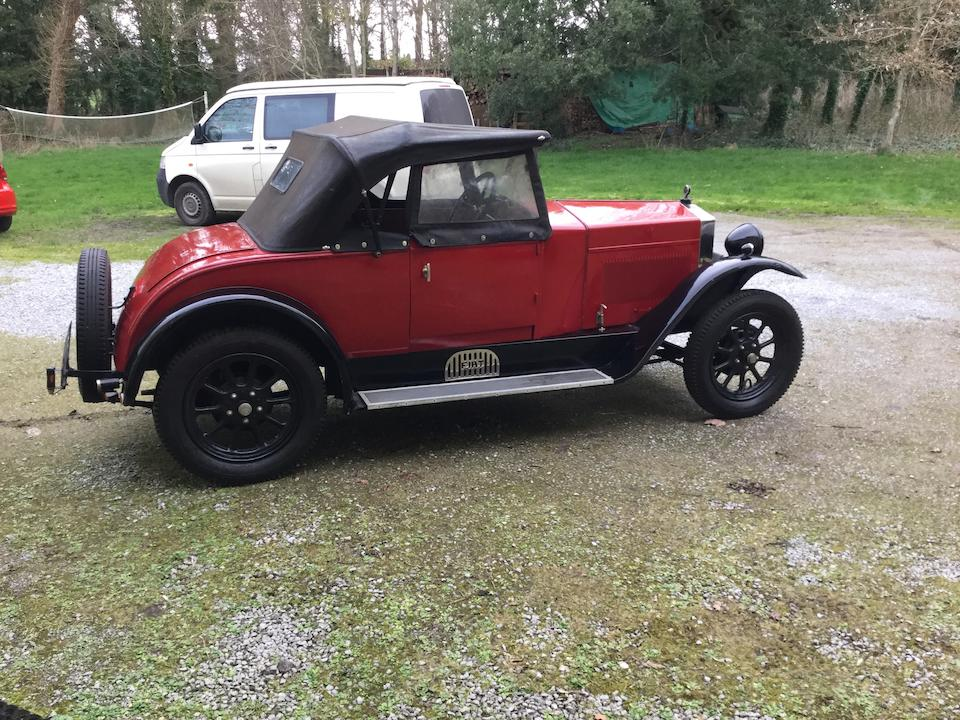 1926 FIAT 509 Roadster with Dickey  Chassis no. to be advised