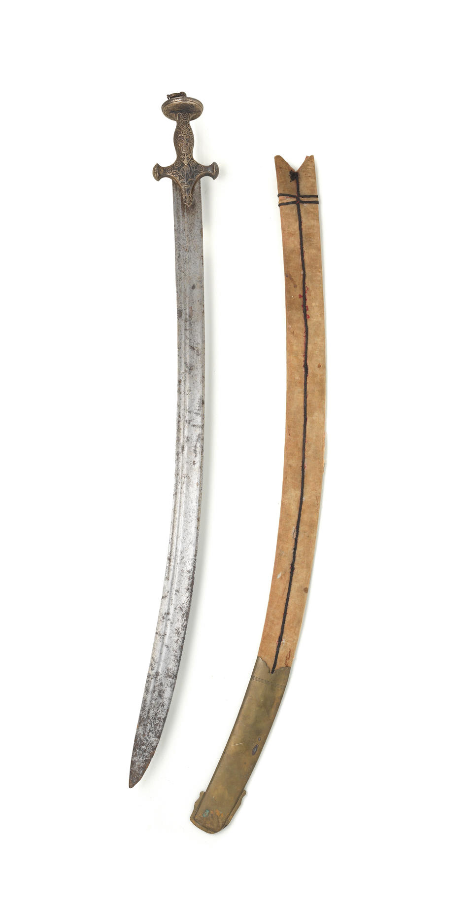 Two steel swords (tulwars) North India, 18th/ 19th Century(2)
