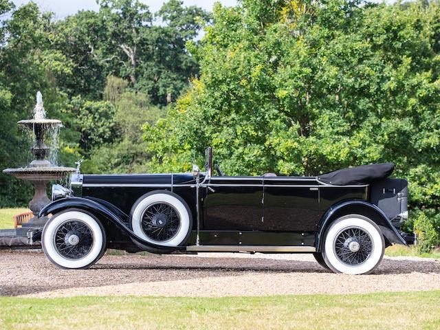 1929 Rolls-Royce Phantom I Newmarket Tourer  Chassis no. S253KR
