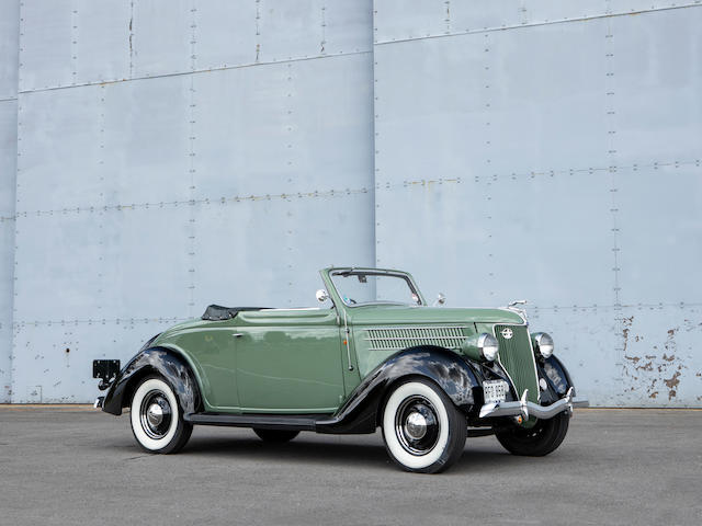 1936 Ford Model 68 Cabriolet  Chassis no. 18-F3117127