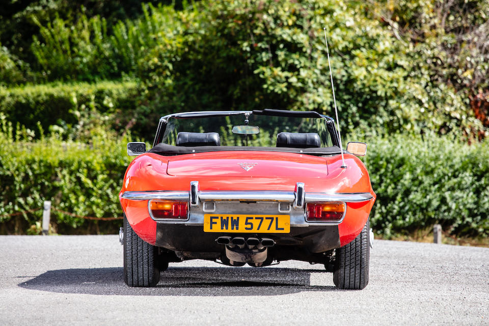 1973 Jaguar E-Type Series III V12 Roadster  Chassis no. 1S1772BW