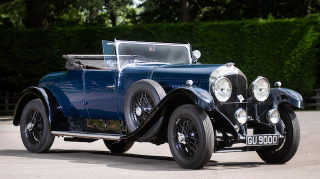 Property of a deceased's estate,1929 Bentley 4½-Litre Tourer  Chassis no. NX3468