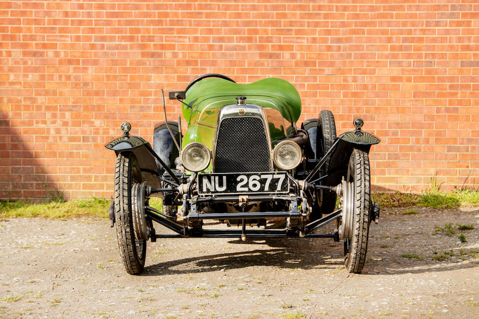 One of the oldest surviving production Aston Martins,1923 Aston-Martin 1½-Litre Two-Seat Sports Tourer  Chassis no. 1932