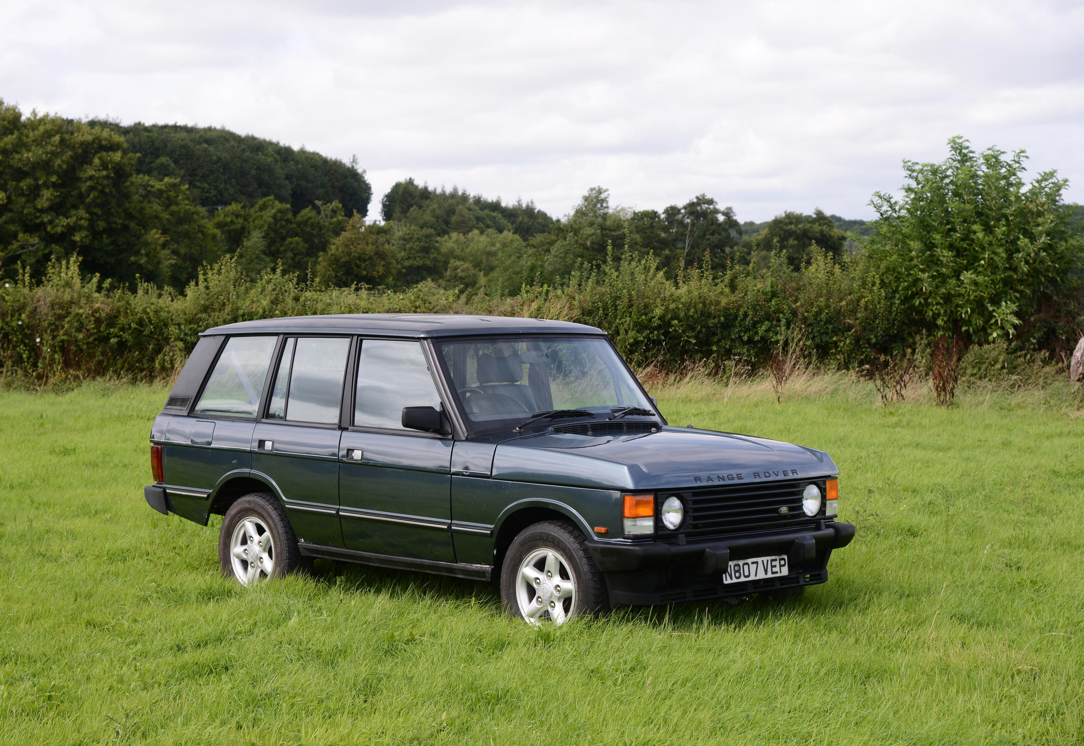 1995  Range Rover Vogue Classic  Chassis no. SALLHAMM3MA662155