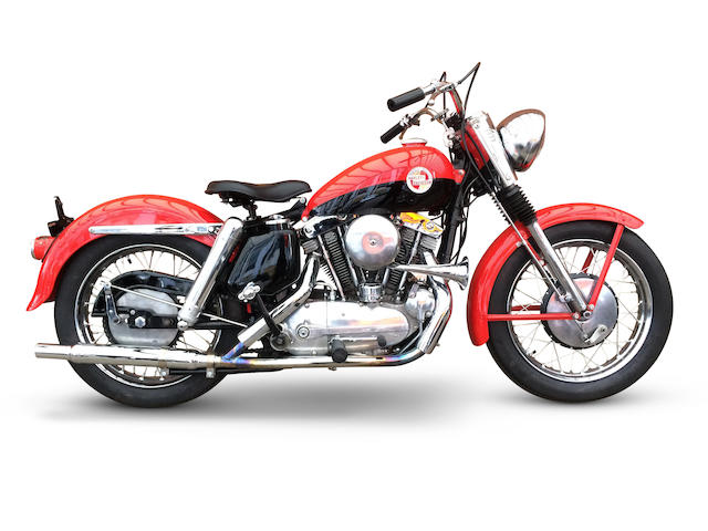 From Warr's Harley-Davidson, 1957 Harley-Davidson 883cc XL Sportster  Engine no. 57XL1211