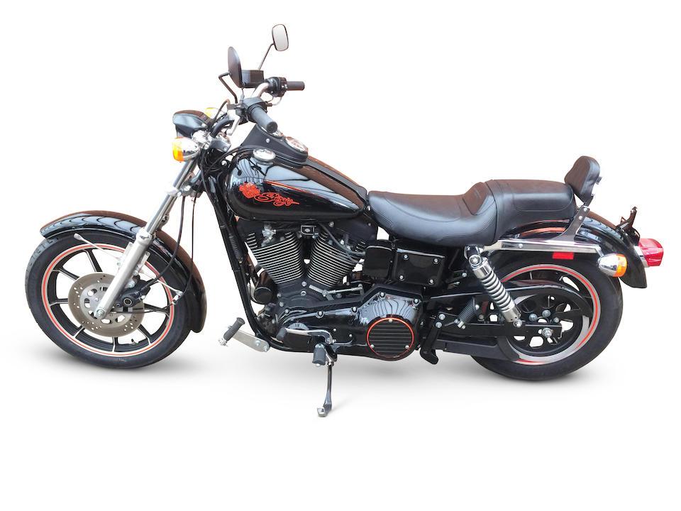 From Warr's Harley-Davidson,1991 Harley-Davidson 1,340cc FXDB Sturgis  Frame no. 1HD1GBL47MY305091 Engine no. GBLM305091