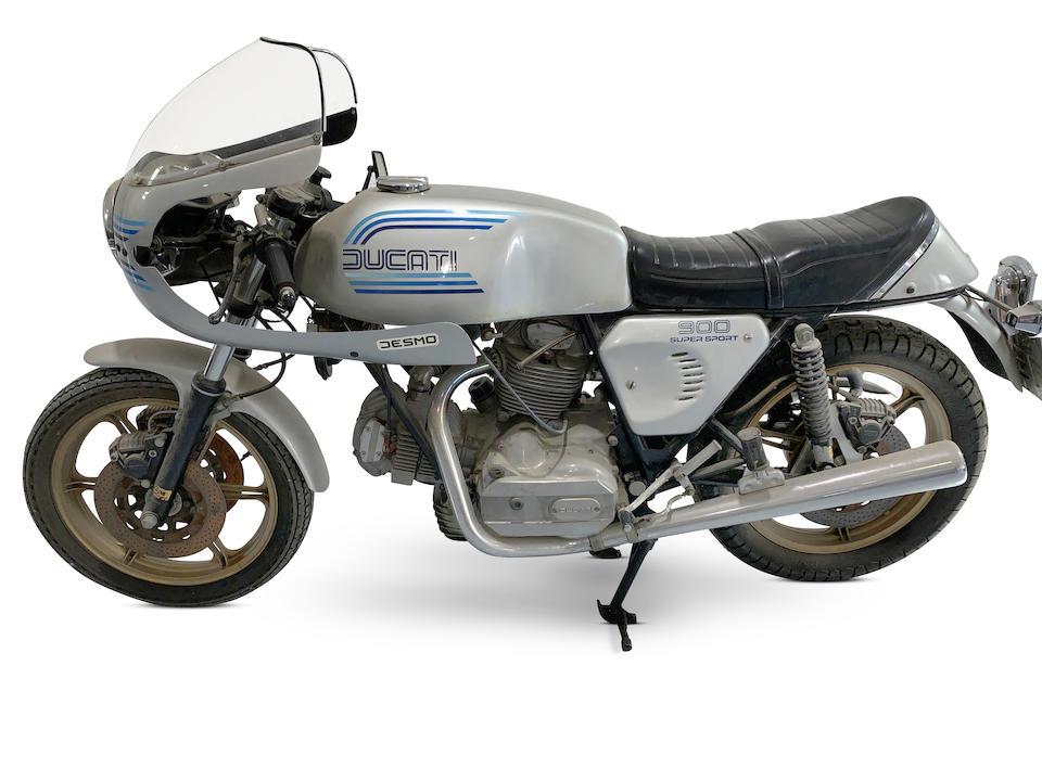 1981 Ducati 900SS Frame no. DM860SS 090611 Engine no. 092207 DM860