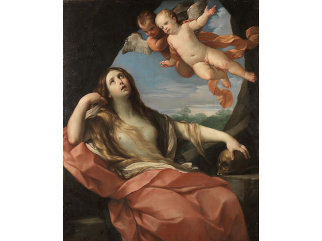 Studio of Guido Reni (Calvenzano 1575-1642 Bologna) The Penitent Magdalen
