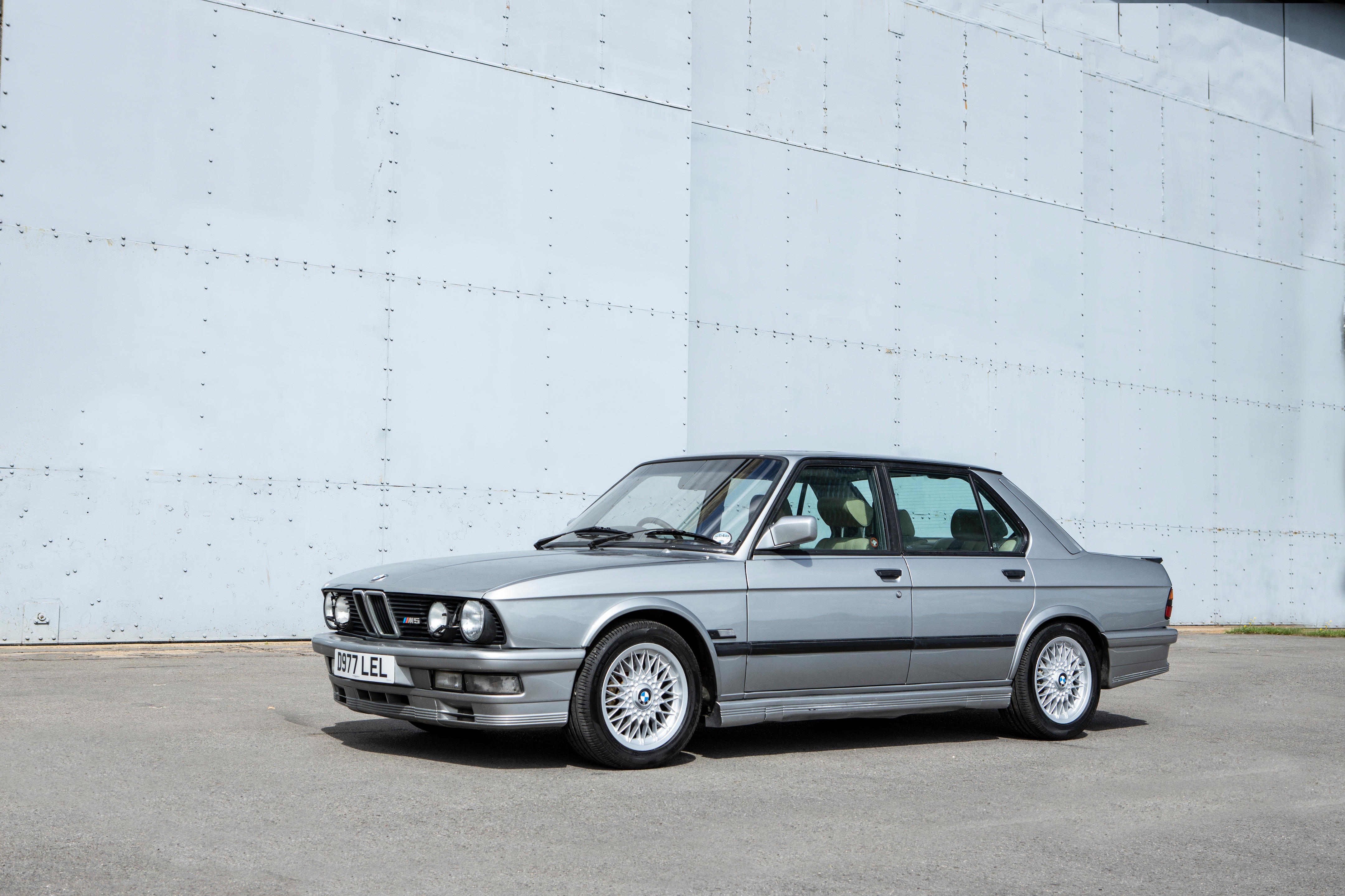 1986 BMW M5 'E28' Saloon  Chassis no. WBSDC92051679101