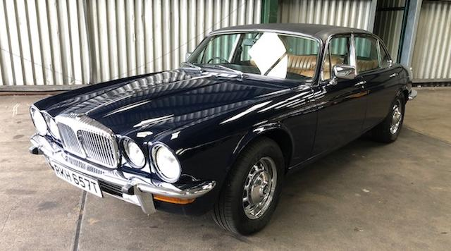 1979 Daimler Double Six  Chassis no. 2K-2869BW