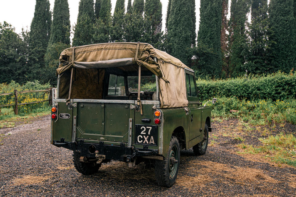 1961 Land Rover Series 2 88 inch  Chassis no. 24100334